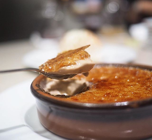 My personal favourite of the three desserts we tried was this teh halia creme brûlée.