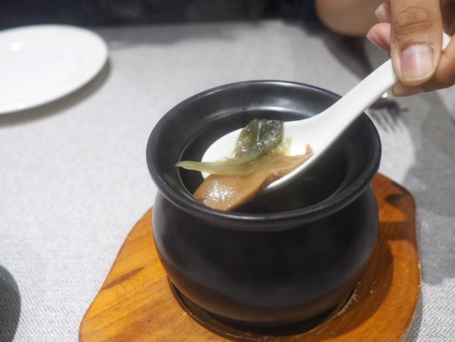 Double-Boiled Salted Vegetable Soup