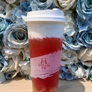 Strawberry Rock Salt Macchiato ($5.2-large)