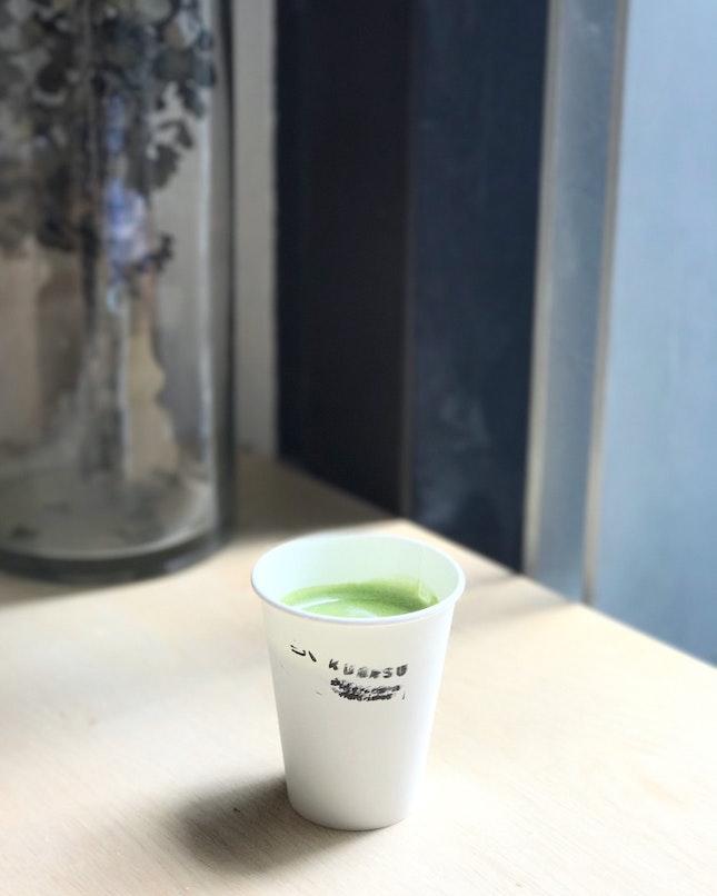 Matcha Latte @ Kurasu Singapore