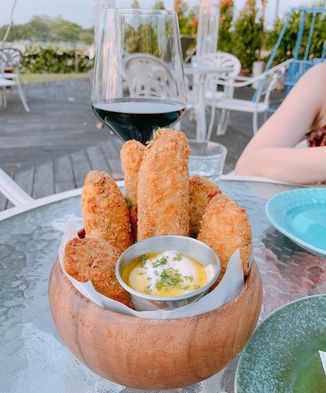 Portobello Katsu Fries