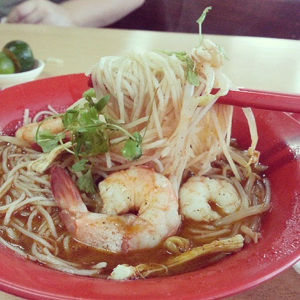 T..T this is the sarawak laksa I've been craving for.