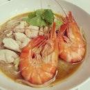 Sarawak laksa @ Aloft #takepicha #dinewithannna #2013 #food #foodie #foodporn #foodspotting #instafood #nomnom #yumyum #yummy #instahub #instalove #igmy #instamalaysia #aloft #kualalumpur #klsentral