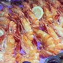 Yummeh juicy prawns #takepicha #dinewithannna #2013 #food #foodie #foodporn #foodspotting #instafood #nomnom #yumyum #yummy #instahub #instalove #igmy #instamalaysia #prawns #aloft #kualalumpur