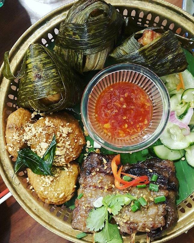 #tikambalik last night's dinner at Thai Hou Sek.