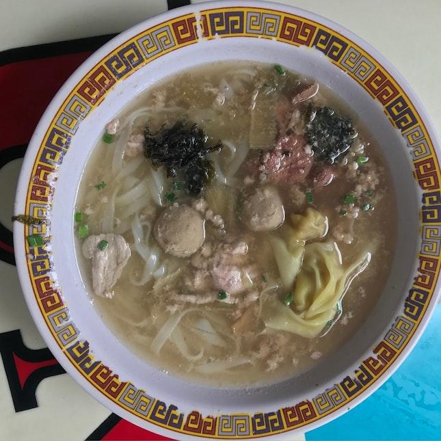 Kueh Tian Soup Noodle