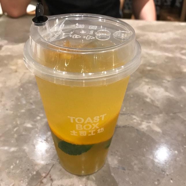 Orange Yu Zu Drink