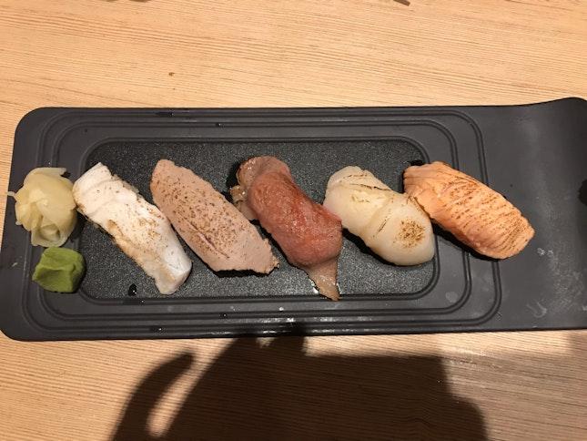 Aburi Sushi Set