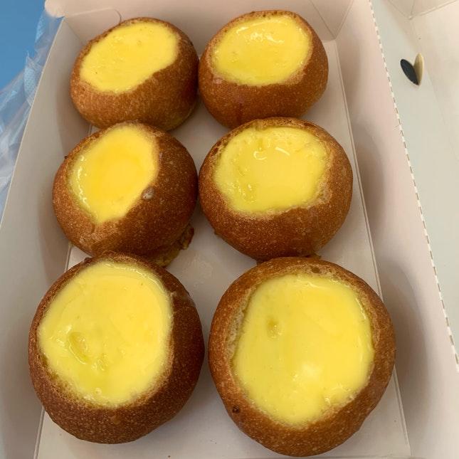 Baguette Egg Tart
