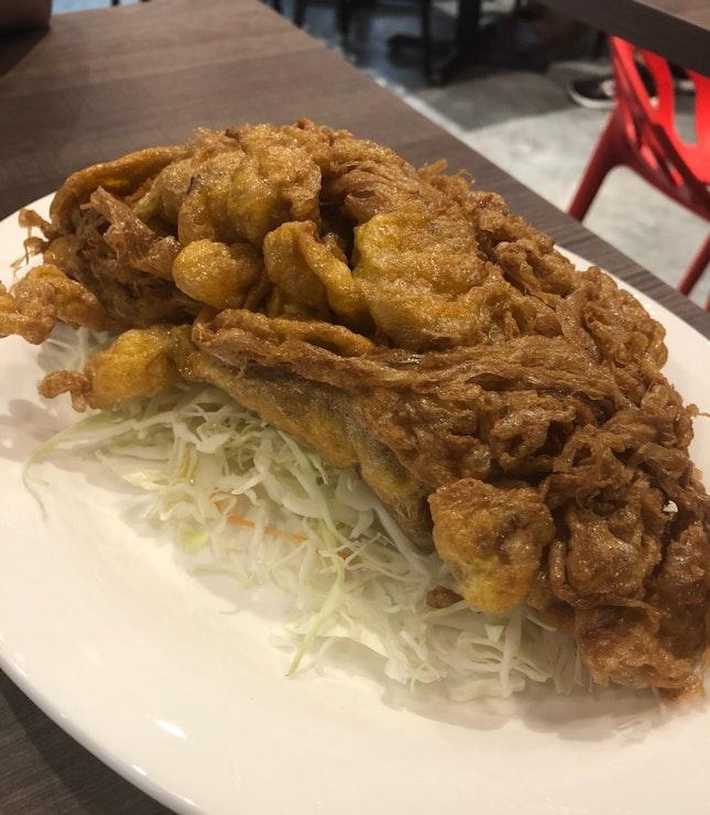 Crispy Thai Omelette (Onion)