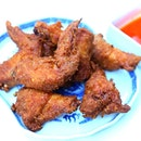 Har Cheong Chicken Wings aka prawn paste wings.