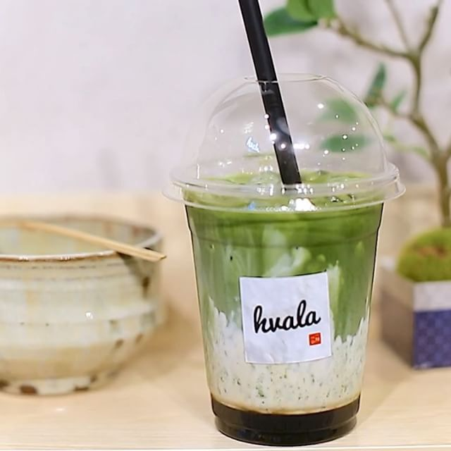 "Hvala  currently serve Matcha Latte using matcha from 2 different regions in Japan – the Uji Matcha Latte ($5.20) in which the flavour profile is described as ""vegetal and slightly astringent""; and Nisho Matcha Latte ($5.60) with a rounder flavour and more vibrant colour comparatively."