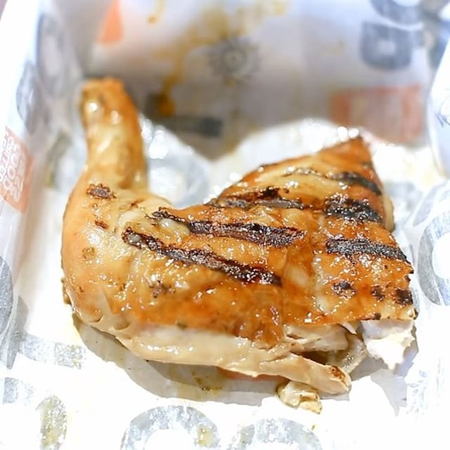 Oporto is a fast-food chain from Australia specialising in Portuguese flame grilled chicken.