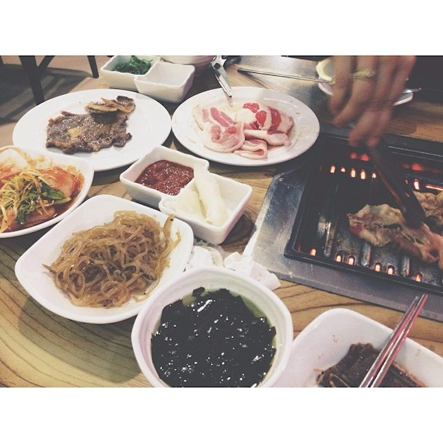 #suddenly #bbq #dinner #yesterday #then #got #asked #for #for #bbq #date #at #home