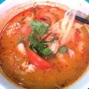Tom Yum Seafood Soup W Beehoon