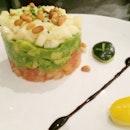 Tian Of Tomato, Avocado, Mango