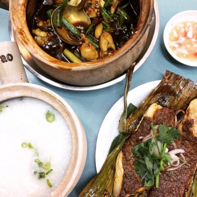 Gong Bao Frog Leg Porridge