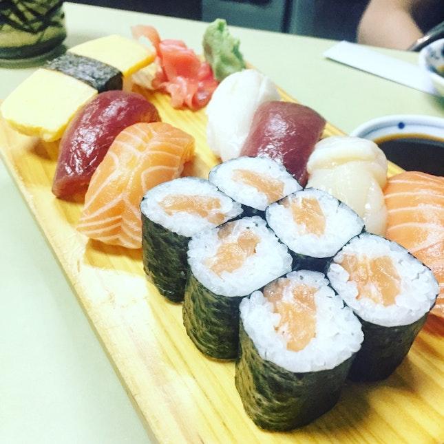 Sushi Set ($22)