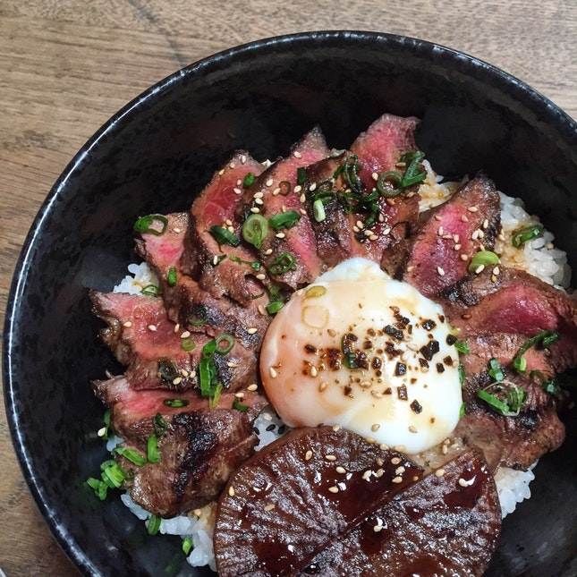 Suki Beef Rice Bowl ($18.90)