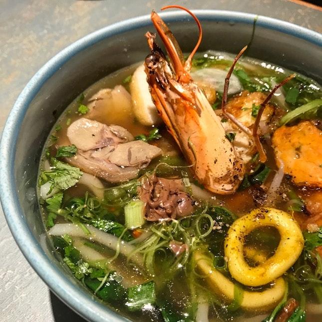 Fisherman Pork Noodle ($12)