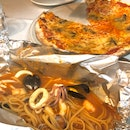 Linguine Al Cartoccio And Al Fungi Porcini