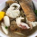 128 Fish Slice Porridge (Jurong West 505 Market & Food Centre)