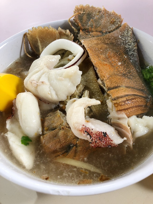 Tender Fish Slice Soup