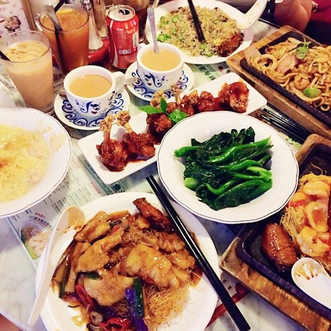 Massive Food Coma
