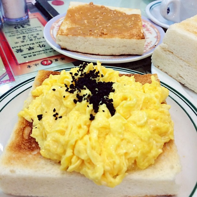 Truffle Scramble Eggs