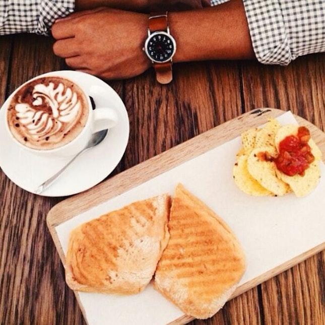 Sandwich & Mocha