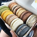 Happened to see this patisserie place where they sell a wide variety of Macarons!