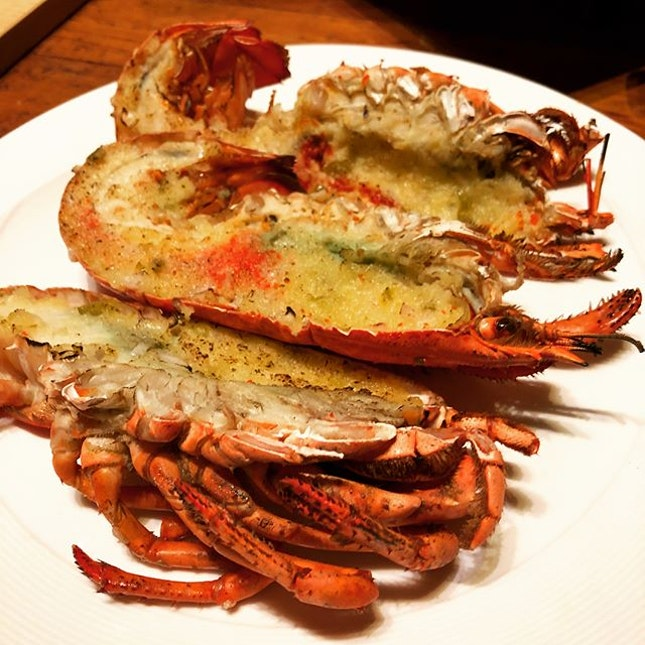 The number of lobsters I ate today have surpassed the number of lobsters I have ate for the past decade.
