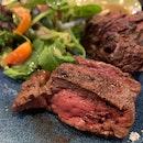 Great Charcoal Grilled NZ Ribeye Steak
