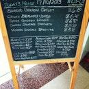 #lunch #menu #wine #sangria #wurst #SunnySingapore