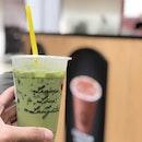 Keeping myself hydrated 🥤: Green Thai Tea (R) - S$3 📍: @tuktukcha Singapore