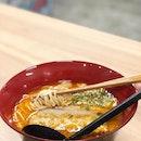 Spice up your life 🔥•🍜: Spicy Tonkotsu Shoyu Ramen - S$11.90 (Lunch Set)📍: Burosu Ramen, Singapore