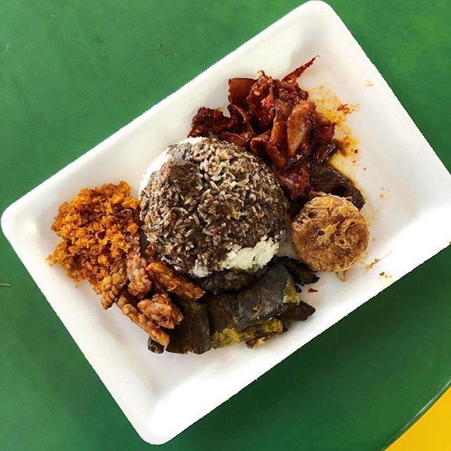 <🇩🇪> So sieht Nasi Rawon in Singapur aus <🇬🇧> This is how Nasi Rawon looks like in Singapore • 🍱: Nasi Rawon - S$4.5 📍: Maxwell Food Centre, SG