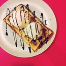 Ice Cream And Waffles