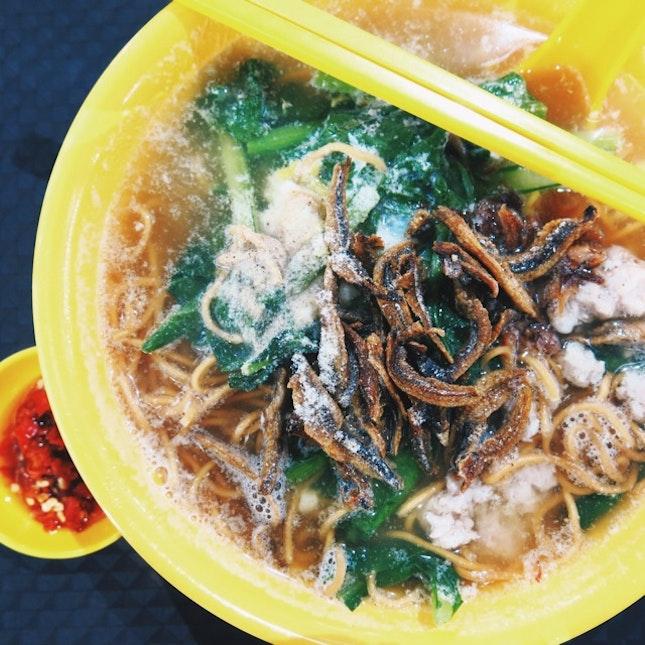 Zhong Xin Ban Mian ($3.50)