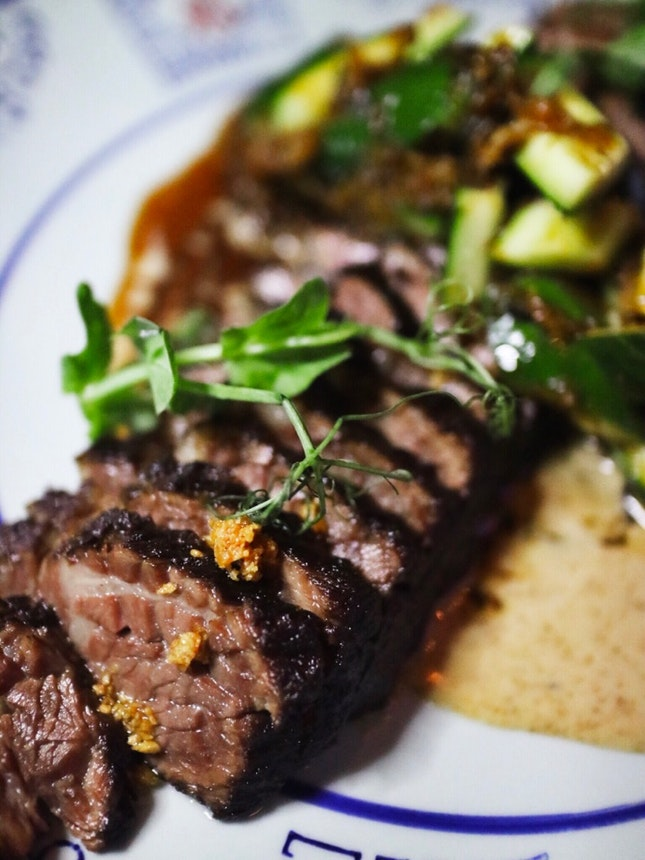 Twice Cooked Angus Short Ribs ($36)