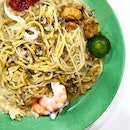 With two stalls selling fried hokkien prawn noodles at the recently renovated Chomp Chomp Food Centre, it might be tough to decide which to go for since both of them have a long queue.
