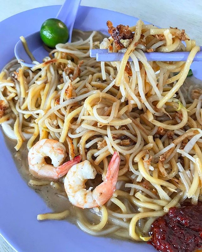 My quest to find good fried hokkien mee continues at Tampines Avenue 4.