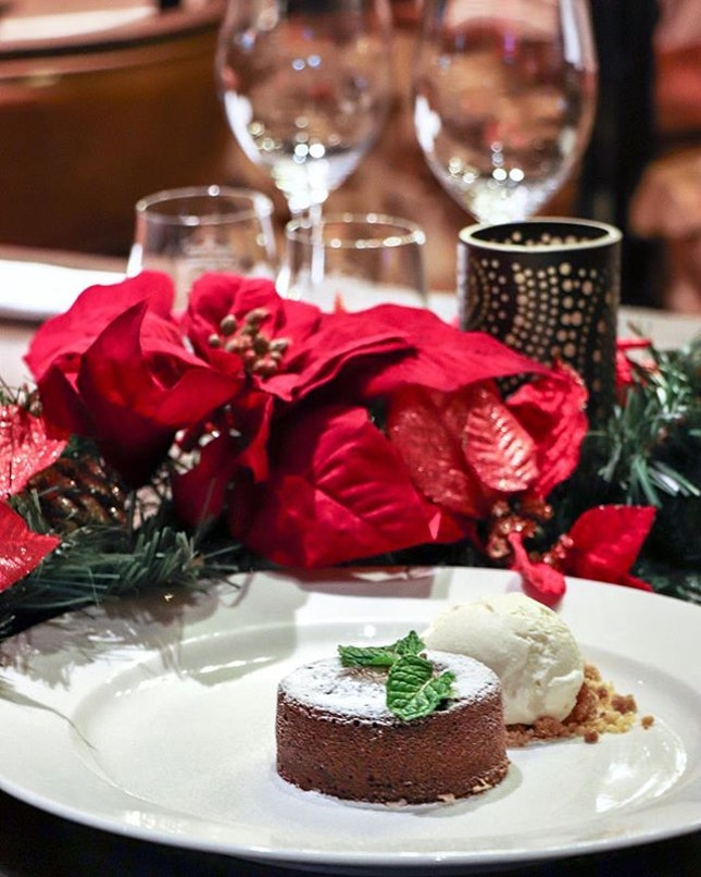 After indulging on a tender piece of steak, leave some stomach room for desserts such as the Wooloomooloo Hot Chocolate Cake ($27).