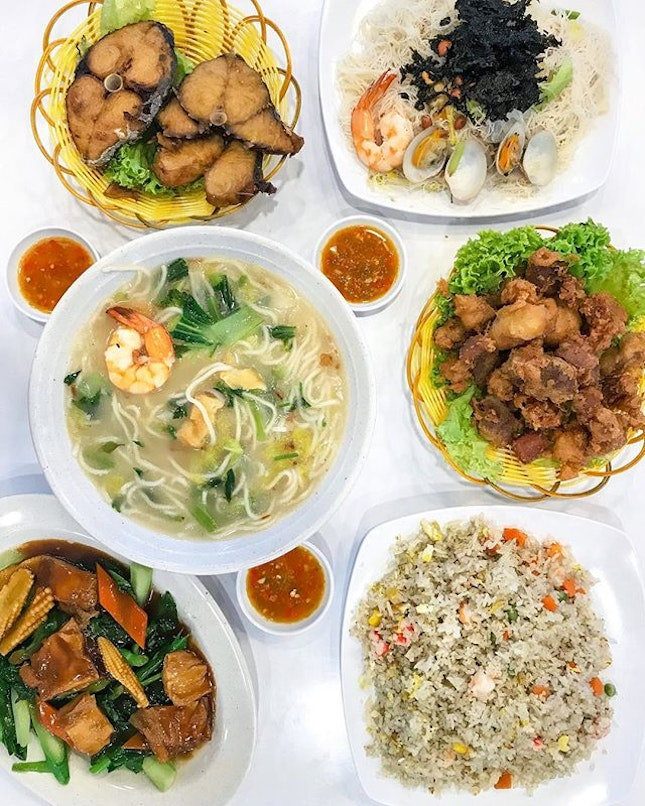 So glad that there's finally a Henghwa cuisine stall in my hood and after the recommendation by a fellow foodie, we had a family dinner there tonight and was surprised by the standards.
