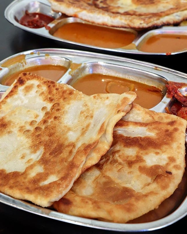 The journey to the West continues to Enaq, touted as the best prata in the West.