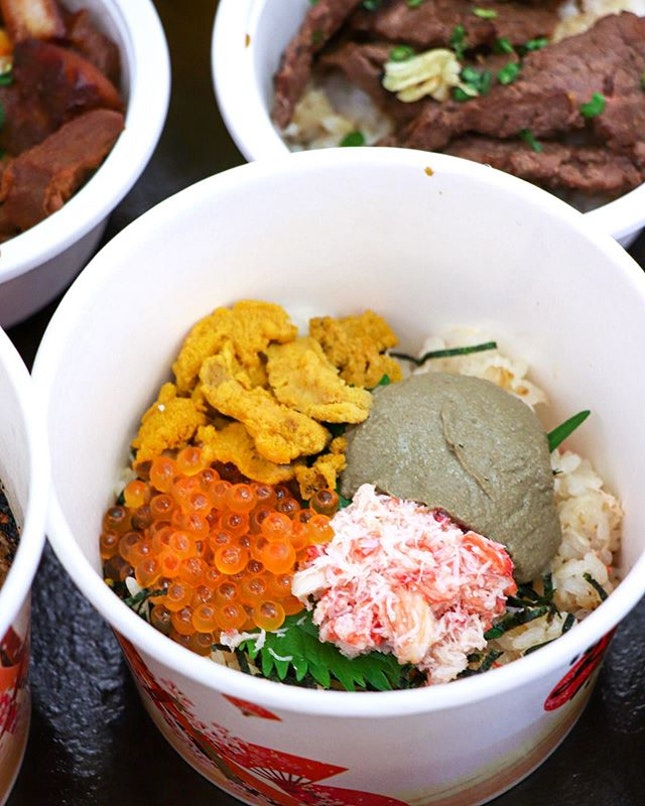 With over 38 different types of Japanese food from 16 food stalls, including 6 award-winning donburi, the first ever RWS Summer Matsuri will be happening from now to Sunday, 9 June, operating daily from 5pm-11pm.