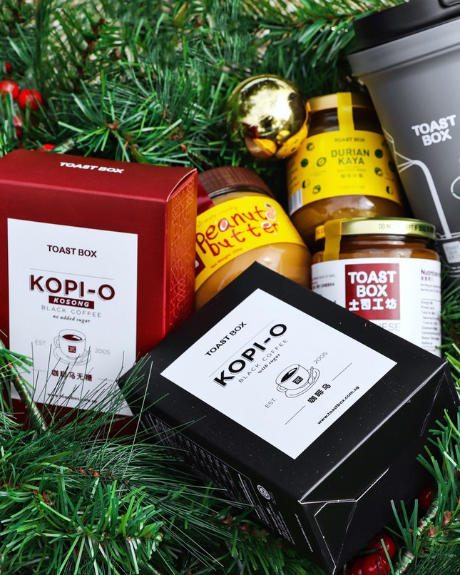 Toast Box is here to spread some holiday cheer this Christmas season as they will launching a range of festive cakes and gifts that you can pre order in the link below.