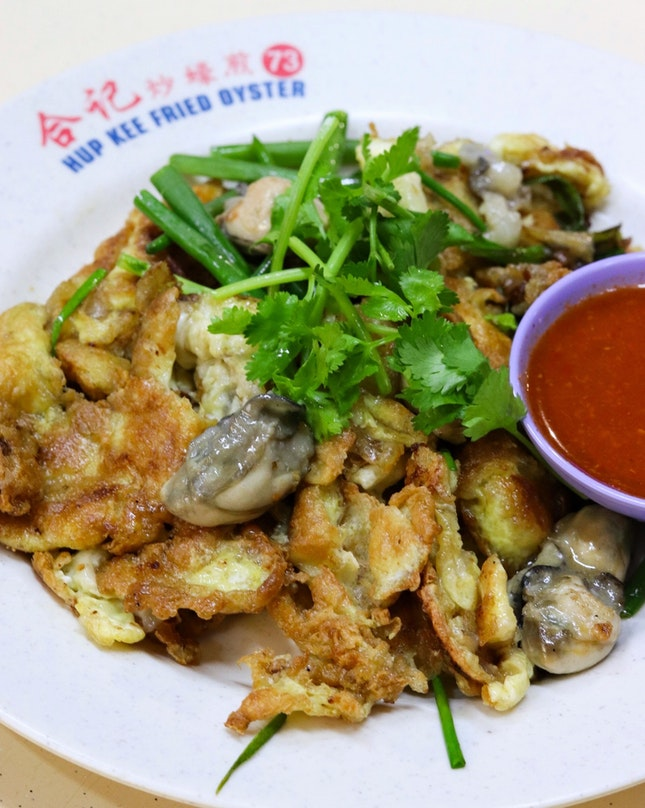 I have had the fried oyster from Hup Kee previously but didn't manage to capture any shots as I went straight in for the food when it came to the table.