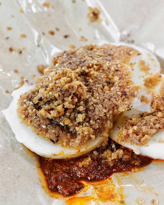 This needs no further introduction if you have been to the Bedok Interchange Hawker Centre or have tried their chwee kueh from their various outlets around Singapore.