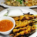 She said I over-ordered because 15 sticks of chicken satay with a ketupat is too much food but I said that we should not have to endure any food regrets.